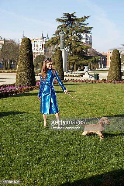 Actress Michelle Jenner is photographed for Conde Nast Traveler Spain on March 2 2013 in Madrid Spain