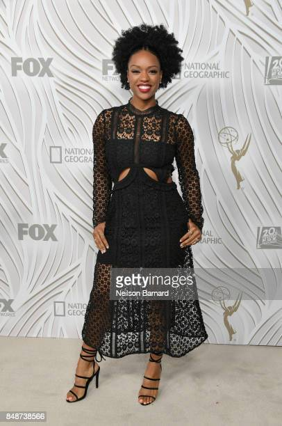 Actress Michelle Mitchenor attends FOX Broadcasting Company Twentieth Century Fox Television FX And National Geographic 69th Primetime Emmy Awards...