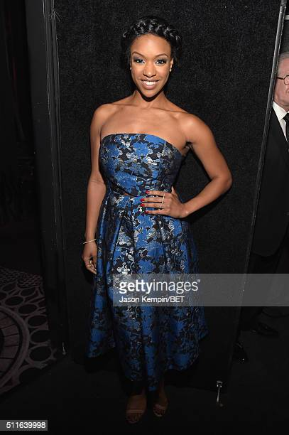 Actress Michelle Mitchenor during the 2016 ABFF Awards A Celebration Of Hollywood at The Beverly Hilton Hotel on February 21 2016 in Beverly Hills...