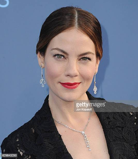 Actress Michelle Monaghan arrives at The 22nd Annual Critics' Choice Awards at Barker Hangar on December 11 2016 in Santa Monica California