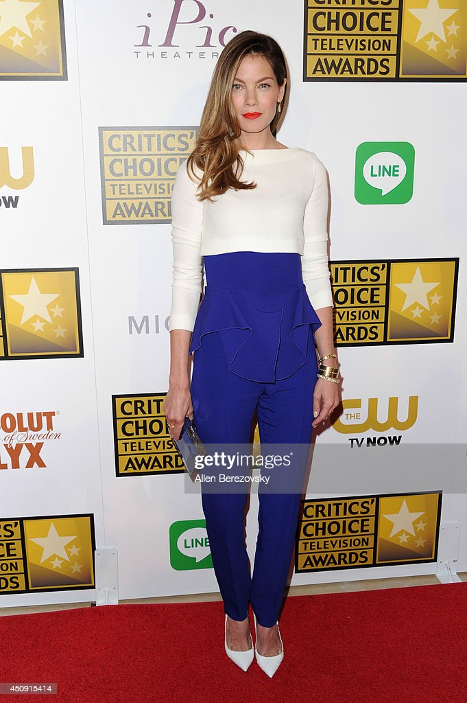 Actress <a gi-track='captionPersonalityLinkClicked' href=/galleries/search?phrase=Michelle+Monaghan&family=editorial&specificpeople=213746 ng-click='$event.stopPropagation()'>Michelle Monaghan</a> arrives at the 4th Annual Critics' Choice Television Awards at The Beverly Hilton Hotel on June 19, 2014 in Beverly Hills, California.