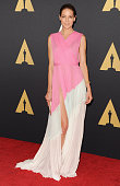Actress Michelle Monaghan arrives at the Academy Of Motion Picture Arts And Sciences' Governors Awards at The Ray Dolby Ballroom at Hollywood...