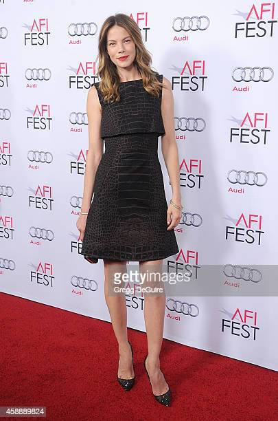 Actress Michelle Monaghan arrives at the AFI FEST 2014 Presented By Audi A Special Tribute To Sophia Loren at Dolby Theatre on November 12 2014 in...