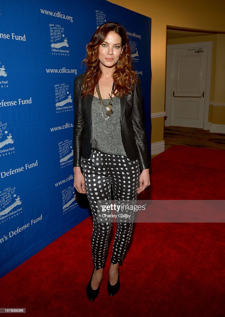 Actress Michelle Monaghan arrives at the Children's Defense Fund of California 22nd Annual Beat The Odds Awards at Beverly Hills Hotel on December 6, 2012 in Beverly Hills, California.