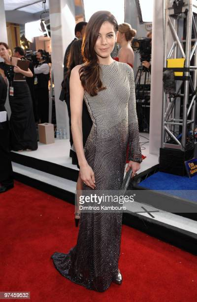 Actress Michelle Monaghan arrives to the TNT/TBS broadcast of the 16th Annual Screen Actors Guild Awards held at the Shrine Auditorium on January 23...