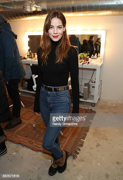 Actress Michelle Monaghan attends ATT At The Lift during the 2017 Sundance Film Festival on January 23 2017 in Park City Utah