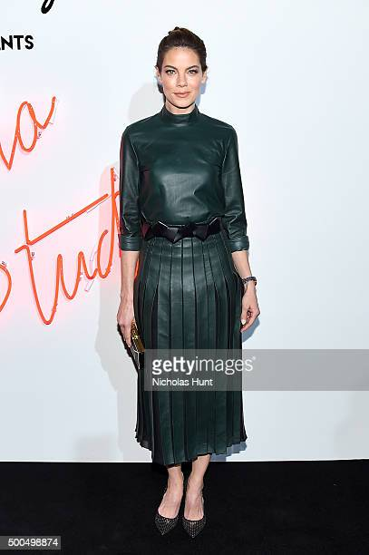 Actress Michelle Monaghan attends 'Ferragamo Presents Gancio Studios Celebrating 100 Years In Hollywood' at Gancio Studios on December 8 2015 in New...