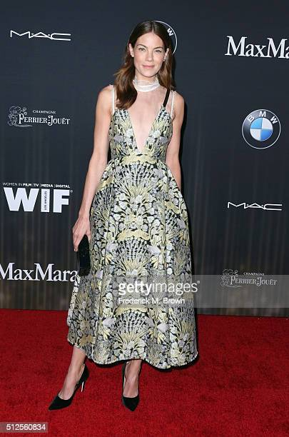 Actress Michelle Monaghan attends Ninth Annual Women in Film PreOscar Cocktail Party presented by Max Mara BMW MAC Cosmetics and PerrierJouet at HYDE...