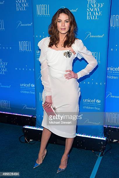 Actress Michelle Monaghan attends the 11th Annual UNICEF Snowflake Ball at Cipriani Wall Street on December 1 2015 in New York City