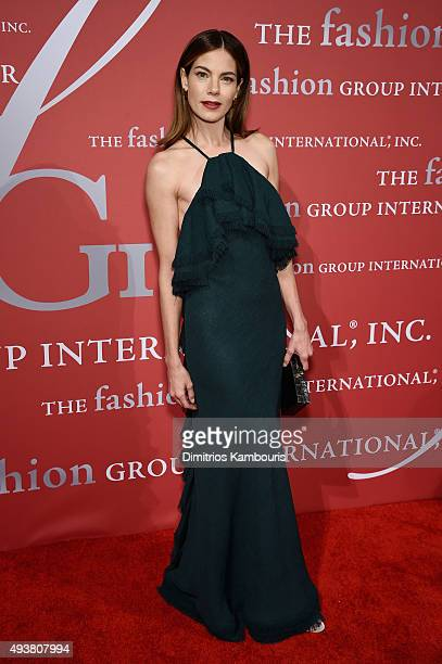 Actress Michelle Monaghan attends the 2015 Fashion Group International Night Of Stars Gala at Cipriani Wall Street on October 22 2015 in New York City