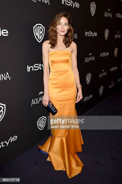 Actress Michelle Monaghan attends The 2016 InStyle And Warner Bros 73rd Annual Golden Globe Awards PostParty at The Beverly Hilton Hotel on January...