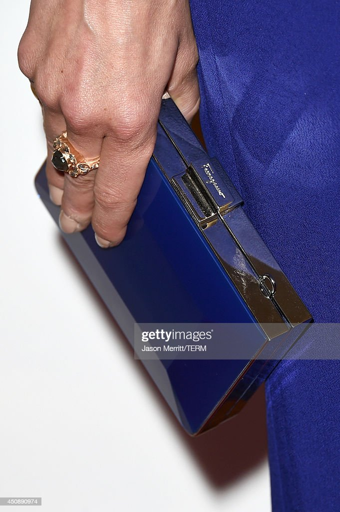 Actress Michelle Monaghan (clutch detail) attends the 4th Annual Critics' Choice Television Awards at The Beverly Hilton Hotel on June 19, 2014 in Beverly Hills, California.