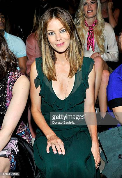 Actress Michelle Monaghan attends the Burberry 'London in Los Angeles' event at Griffith Observatory on April 16 2015 in Los Angeles