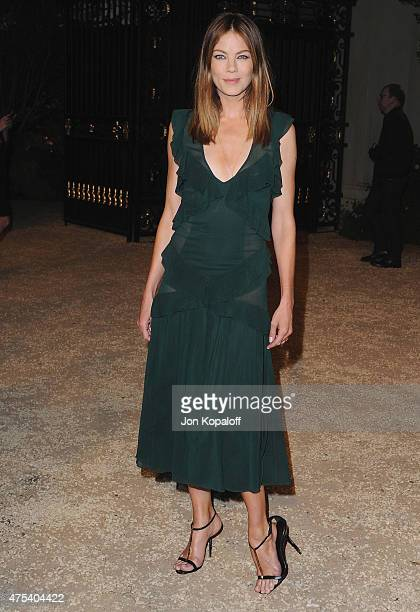 Actress Michelle Monaghan attends the Burberry 'London in Los Angeles' event at Griffith Observatory on April 16 2015 in Los Angeles California