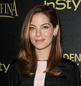 Actress Michelle Monaghan attends the Hollywood Foreign Press Association and InStyle's celebration of the 2015 Golden Globe award season at Fig...