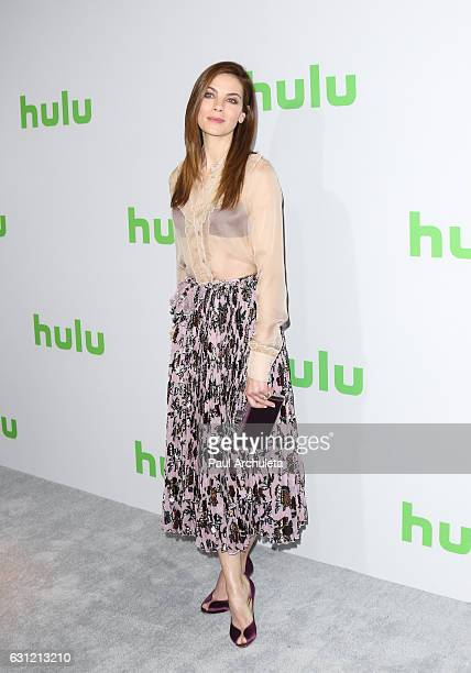 Actress Michelle Monaghan attends the Hulu TCA Winter Press Tour Day at Langham Hotel on January 7 2017 in Pasadena California
