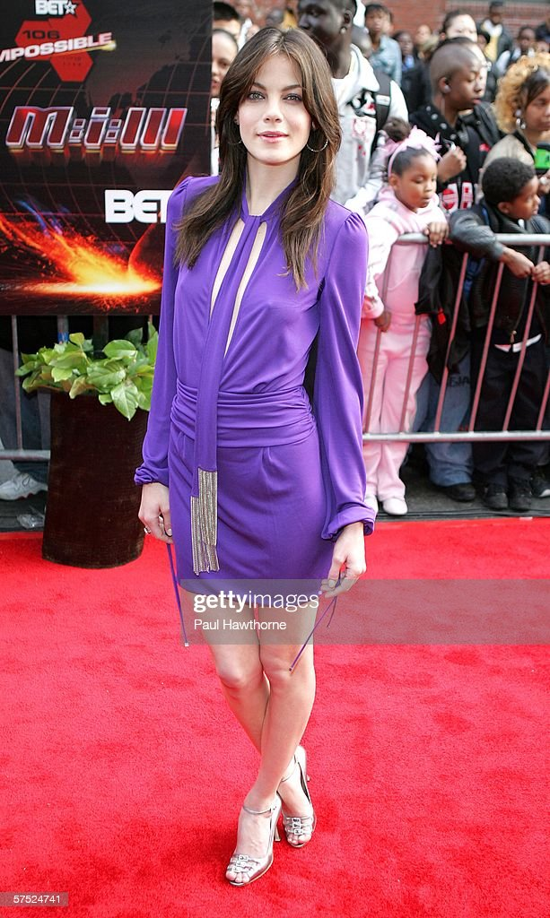 Actress Michelle Monaghan attends the 'Mission: Impossible III' premiere in Harlem hosted by BET at the Magic Johnson Theatres on May 3, 2006 in New York City.