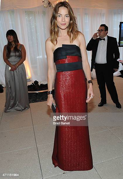 Actress Michelle Monaghan attends the National Journal And The Atlantic White House Correspondents' PreDinner Reception at The Washington Hilton on...