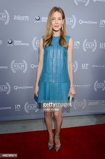 Actress Michelle Monaghan attends the opening night tribute at the San Diego Film Festival 2014 on September 27 2014 in San Diego California