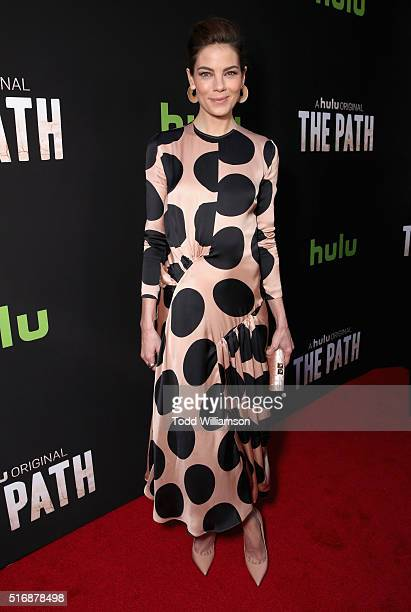 Actress Michelle Monaghan attends The Path Premiere Party at ArcLight Hollywood on March 21 2016 in Hollywood California