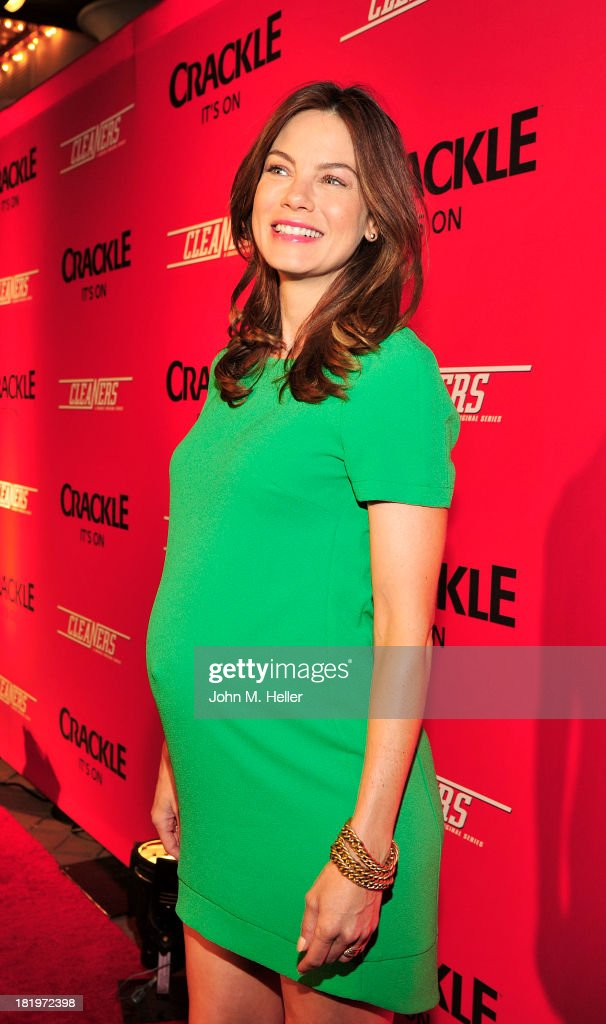 Actress <a gi-track='captionPersonalityLinkClicked' href=/galleries/search?phrase=Michelle+Monaghan&family=editorial&specificpeople=213746 ng-click='$event.stopPropagation()'>Michelle Monaghan</a> attends the premiere of Crackle's new original digital series 'Cleaners' at the Cary Grant Theater on the Sony Pictures Studio lot on September 26, 2013 in Culver City, California.