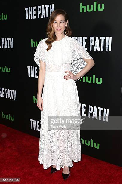 Actress Michelle Monaghan attends the premiere of Hulu's 'The Path' Season 2 at Sundance Sunset Cinema on January 19 2017 in Los Angeles California