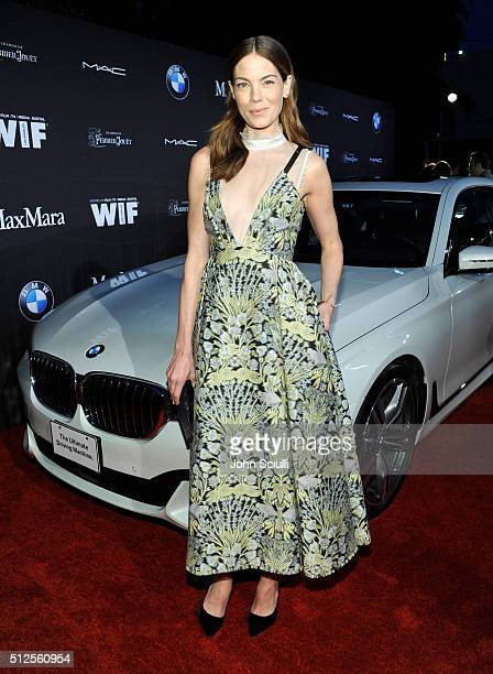 Actress Michelle Monaghan in Max Mara attends Ninth Annual Women In Film PreOscar Cocktail Party presented by Max Mara BMW MAC Cosmetics and...