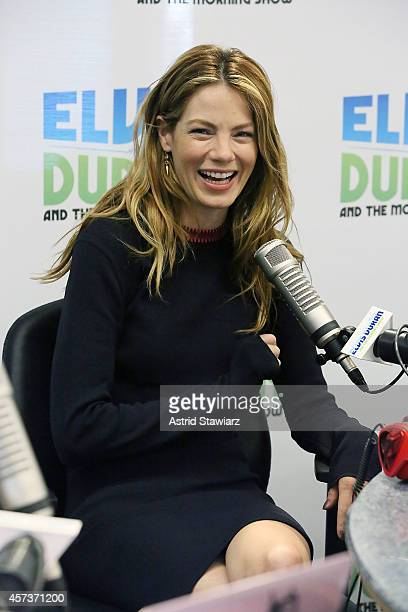 Actress Michelle Monaghan visits 'Elvis Duran's Z100 Morning Show' at Z100 Studio on October 17 2014 in New York City