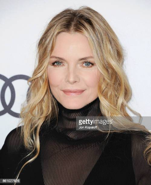 Actress Michelle Pfeiffer arrives at Variety's Power Of Women Los Angeles at the Beverly Wilshire Four Seasons Hotel on October 13 2017 in Beverly...