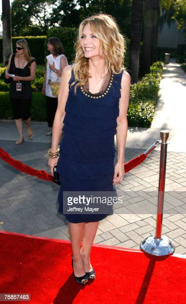 Actress Michelle Pfeiffer at the ' Stardust ' Los Angeles premiere at Paramount Studio Theatre on July 29 2007 in Los Angeles California