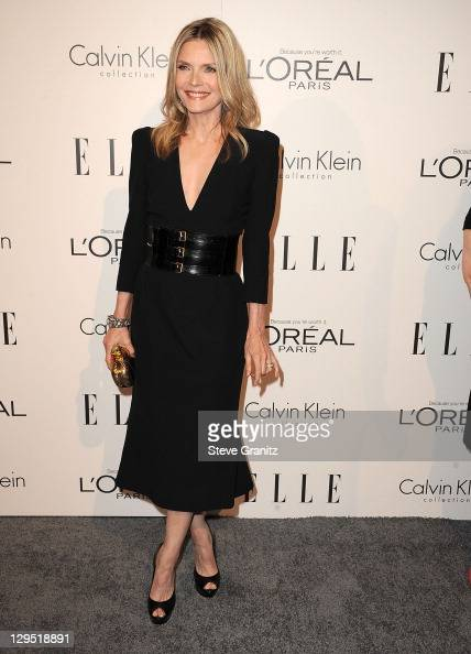 Actress Michelle Pfeiffer attends ELLE's 18th Annual Women In Hollywood Event on October 17 2011 in Beverly Hills California