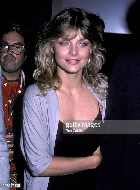 Actress Michelle Pfeiffer attends the 'Grease 2' Premiere Party on June 9 1982 at the Red Parrot in New York City