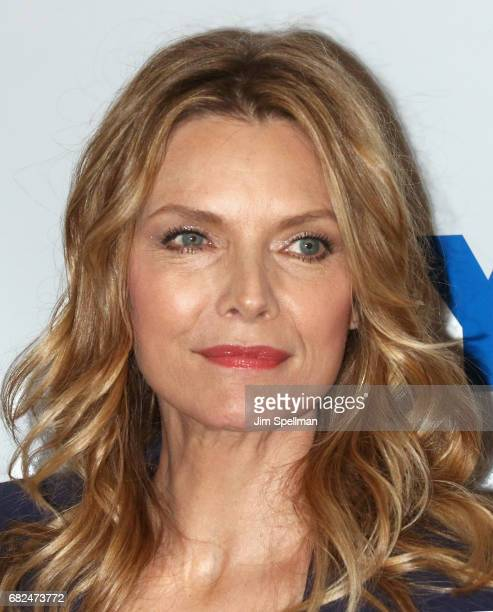 Actress Michelle Pfeiffer attends the 'The Wizard Of Lies' presented by 92Y May 12 2017 in New York City