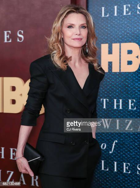 Actress Michelle Pfeiffer attends 'The Wizard of Lies' New York Premiere at The Museum of Modern Art on May 11 2017 in New York City