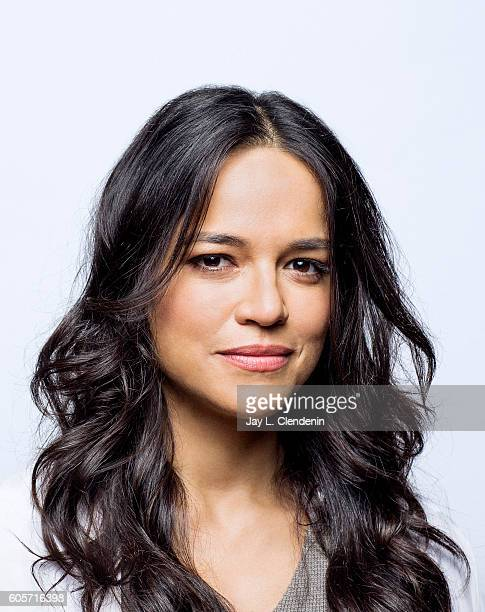 Actress Michelle Rodrigues of 'Assignment' poses for a portraits at the Toronto International Film Festival for Los Angeles Times on September 13...