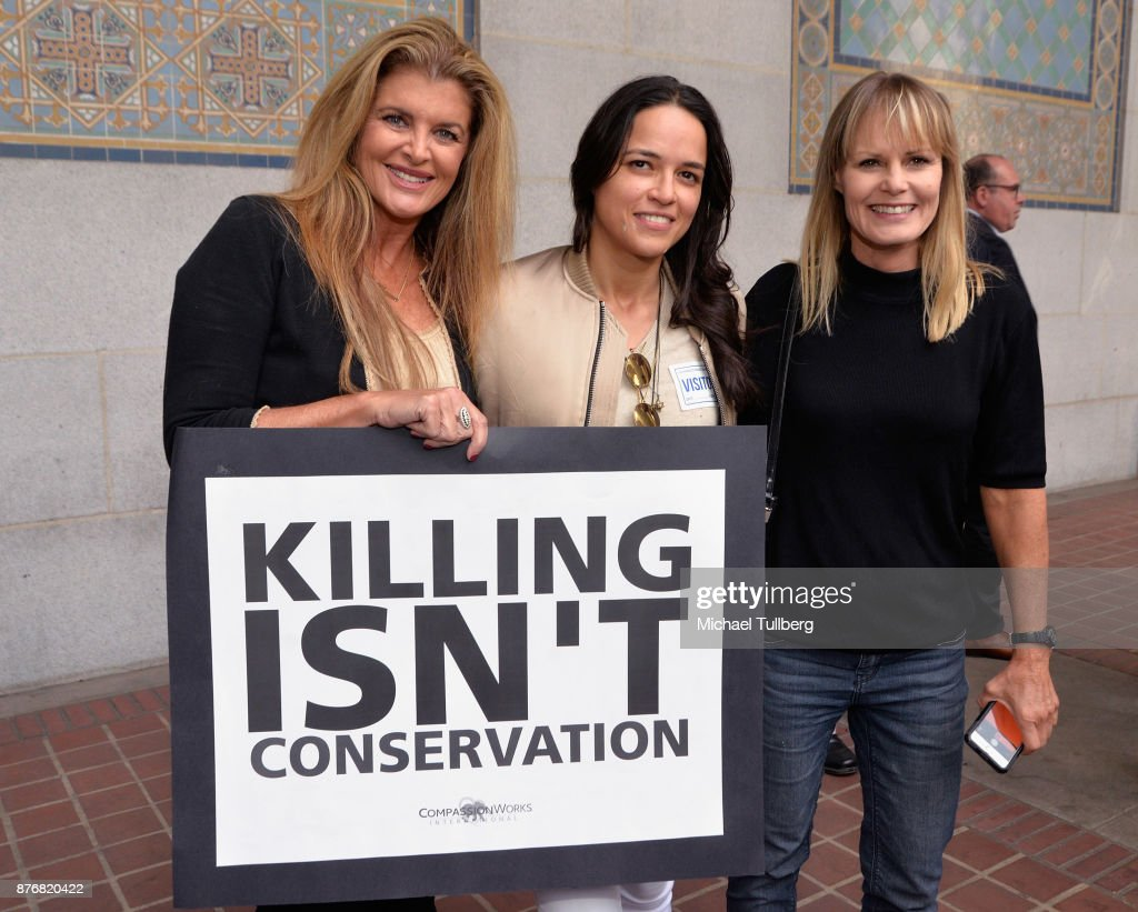 California State Senate President Pro Tempore Kevin De Leon And SCIL Hold Press Conference Regarding Trump's Plan To Reverse Endangered Species Protections