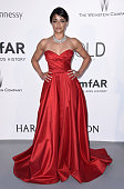 Actress Michelle Rodriguez attends amfAR's 22nd Cinema Against AIDS Gala Presented By Bold Films And Harry Winston at Hotel du CapEdenRoc on May 21...