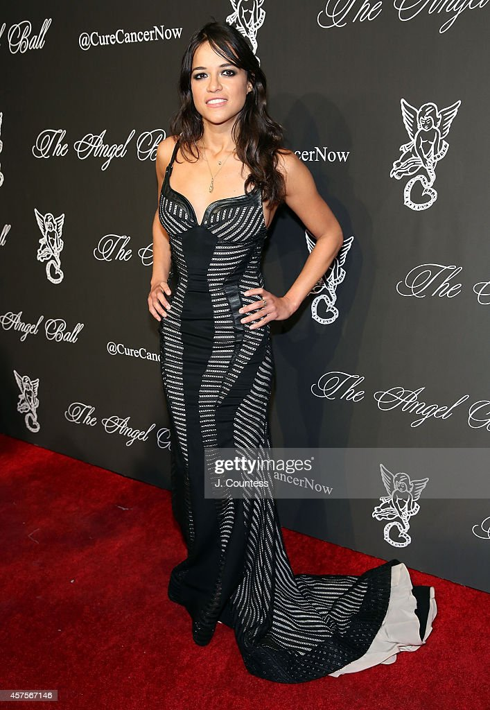 Actress Michelle Rodriguez attends Angel Ball 2014 at Cipriani Wall Street on October 20 2014 in New York City