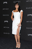 Actress Michelle Rodriguez attends the 2014 LACMA Art Film Gala Honoring Barbara Kruger And Quentin Tarantino Presented By Gucci at LACMA on November...