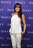 Actress Michelle Rodriguez attends the 2015 Yahoo Digital Content NewFronts at Avery Fisher Hall on April 27 2015 in New York City
