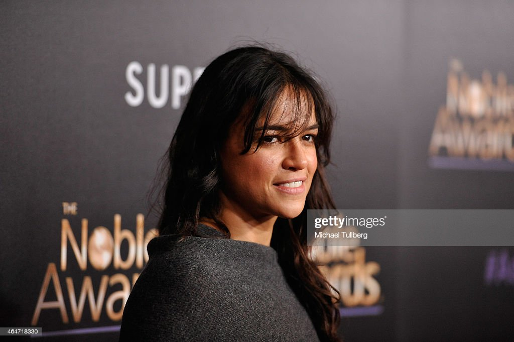 Actress Michelle Rodriguez attends the 3rd Annual Noble Awards at The Beverly Hilton Hotel on February 27 2015 in Beverly Hills California