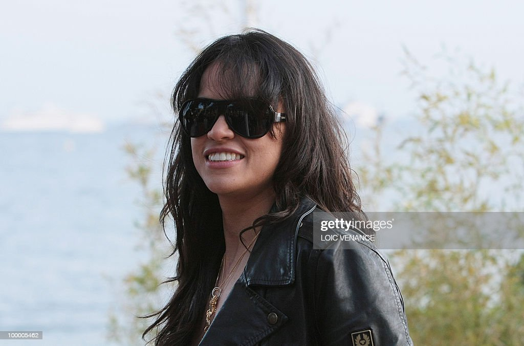 US actress Michelle Rodriguez attends the Canal+ TV show 'Le Grand Journal' at the 63rd Cannes Film Festival on May 19, 2010 in Cannes.
