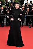 Actress Michelle Rodriguez attends the closing ceremony and 'Le Glace Et Le Ciel' Premiere during the 68th annual Cannes Film Festival on May 24 2015...