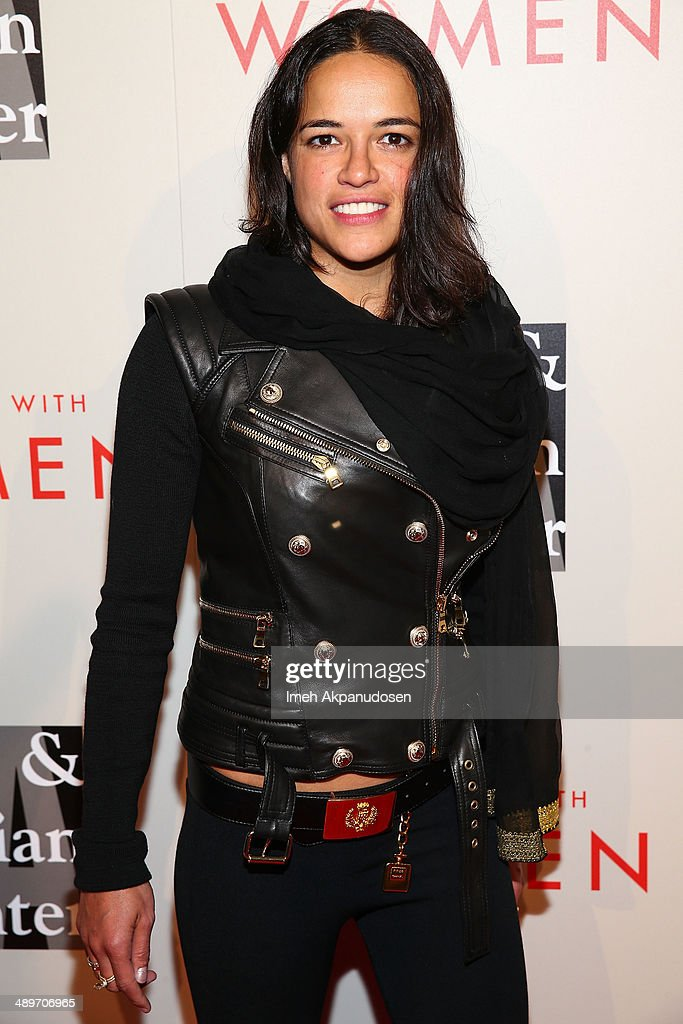 Actress <a gi-track='captionPersonalityLinkClicked' href=/galleries/search?phrase=Michelle+Rodriguez&family=editorial&specificpeople=206182 ng-click='$event.stopPropagation()'>Michelle Rodriguez</a> attends The L.A. Gay & Lesbian Center's 2014 An Evening With Women (AEWW) at The Beverly Hilton Hotel on May 10, 2014 in Beverly Hills, California.