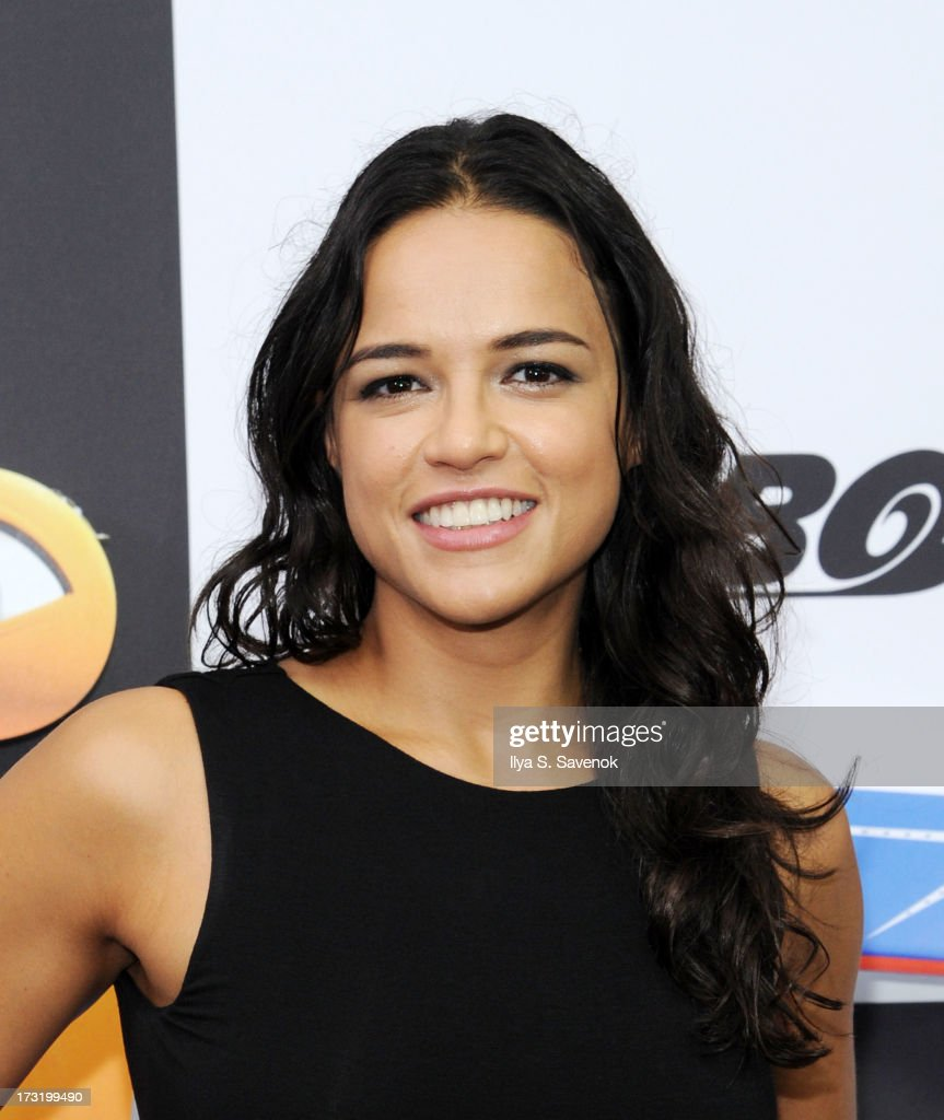 Actress <a gi-track='captionPersonalityLinkClicked' href=/galleries/search?phrase=Michelle+Rodriguez&family=editorial&specificpeople=206182 ng-click='$event.stopPropagation()'>Michelle Rodriguez</a> attends the 'Turbo' New York Premiere at AMC Loews Lincoln Square on July 9, 2013 in New York City.