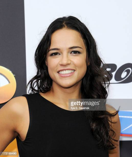 Actress Michelle Rodriguez attends the 'Turbo' New York Premiere at AMC Loews Lincoln Square on July 9 2013 in New York City