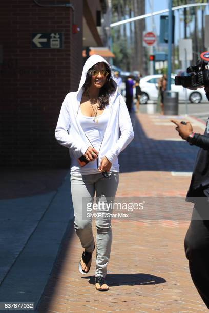 Actress Michelle Rodriguez is seen on August 22 2017 in Los Angeles California