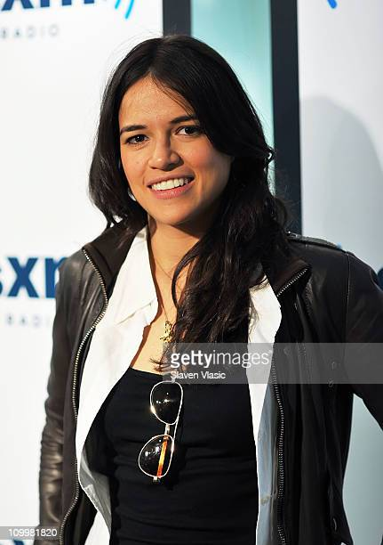 Actress Michelle Rodriguez visits SiriusXM Studio on March 11 2011 in New York City