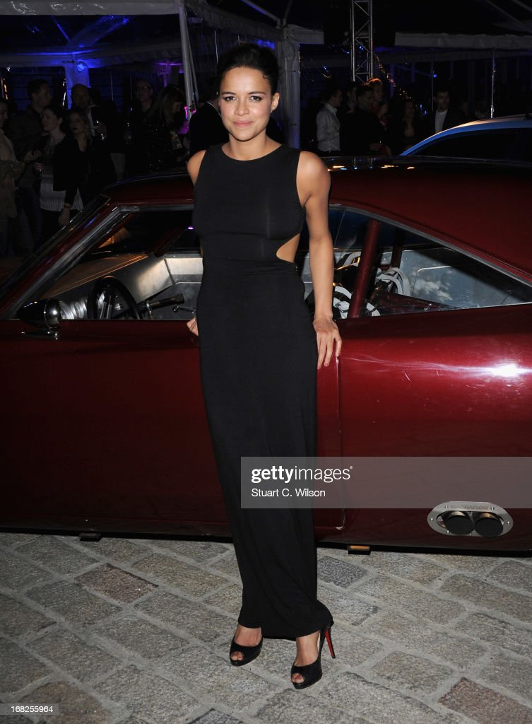 Actress Michelle Rodriquez attends the 'Fast & Furious 6' World Premiere after party at Somerset House on May 7, 2013 in London, England.