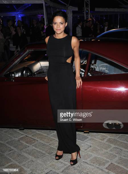 Actress Michelle Rodriquez attends the 'Fast Furious 6' World Premiere after party at Somerset House on May 7 2013 in London England